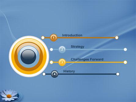 Daisy Wheel PowerPoint Template, Slide 3, 03519, Nature & Environment — PoweredTemplate.com