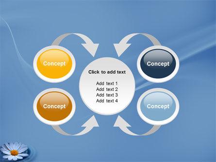 Daisy Wheel PowerPoint Template Slide 6
