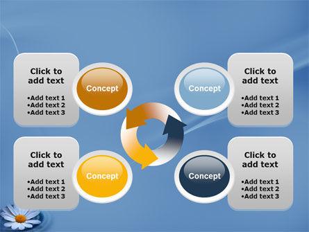 Daisy Wheel PowerPoint Template Slide 9