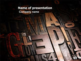 Careers/Industry: Typefaces PowerPoint Template #03520
