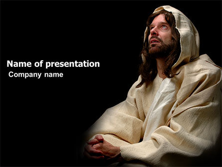 Religious/Spiritual: Believer PowerPoint Template #03521