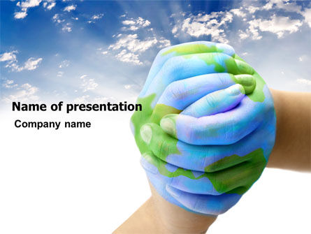Global: Mother Earth PowerPoint Template #03522