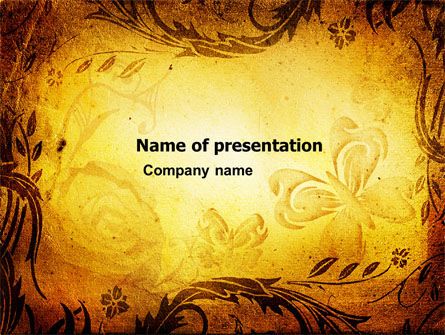 Fairy tale powerpoint templates and backgrounds for your for Fairy tale book cover template