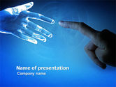 Technology and Science: People and Technology PowerPoint Template #03524