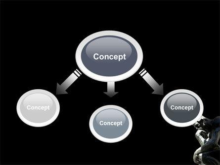 Thinker PowerPoint Template, Slide 4, 03525, Art & Entertainment — PoweredTemplate.com