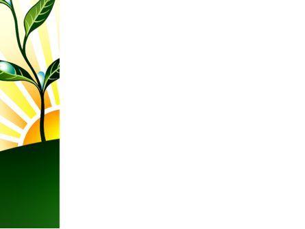 Growing PowerPoint Template, Slide 3, 03531, Nature & Environment — PoweredTemplate.com