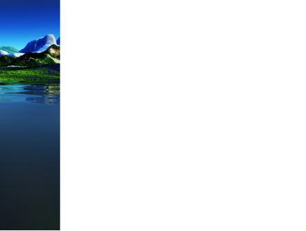 Mountain Lake PowerPoint Template, Slide 3, 03534, Nature & Environment — PoweredTemplate.com