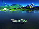 Mountain Lake PowerPoint Template#20