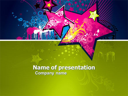 Holiday/Special Occasion: Graphic Design PowerPoint Template #03537