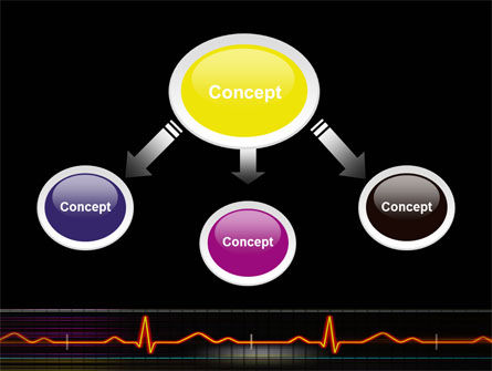 Electrocardiography PowerPoint Template, Slide 4, 03538, Medical — PoweredTemplate.com