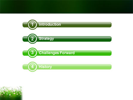Wildflowers Field PowerPoint Template Slide 3
