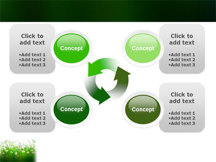 Wildflowers Field PowerPoint Template Slide 9