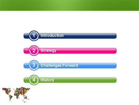 World Diversity PowerPoint Template, Slide 3, 03543, Global — PoweredTemplate.com