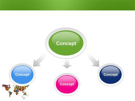 World Diversity PowerPoint Template, Slide 4, 03543, Global — PoweredTemplate.com