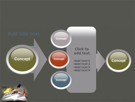 Diagram In The Book PowerPoint Template Slide 17