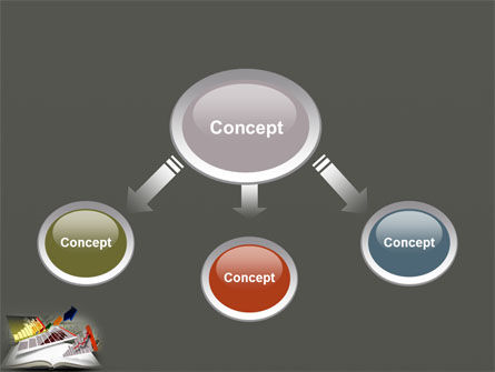 Diagram In The Book PowerPoint Template Slide 4