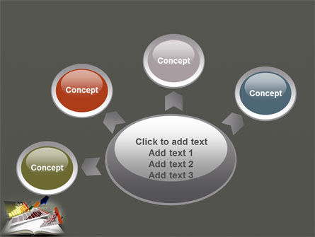 Diagram In The Book PowerPoint Template Slide 7