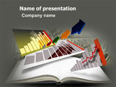Consulting: Diagram In The Book PowerPoint Template #03544