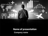 Consulting: Business Strategy PowerPoint Template #03545