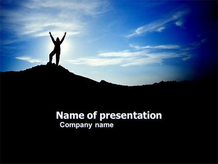 People: The Top PowerPoint Template #03546