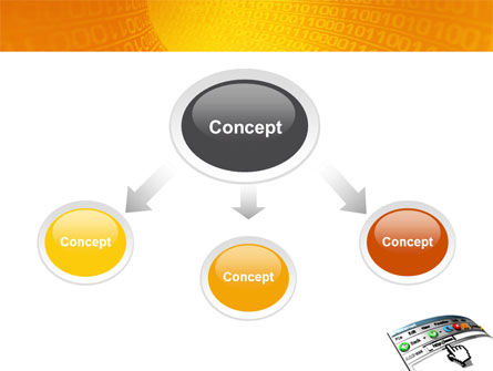 Browser PowerPoint Template, Slide 4, 03548, Technology and Science — PoweredTemplate.com