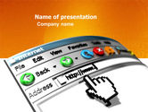 Technology and Science: Browser PowerPoint Template #03548