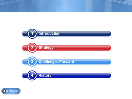 Download Button PowerPoint Template, Slide 3, 03550, Technology and Science — PoweredTemplate.com