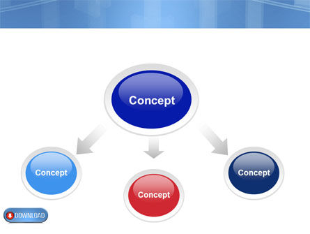 Download Button PowerPoint Template, Slide 4, 03550, Technology and Science — PoweredTemplate.com