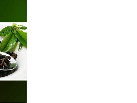 Green Tea Ceremony PowerPoint Template, Slide 3, 03551, Food & Beverage — PoweredTemplate.com