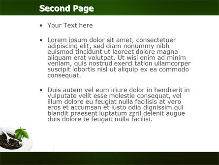 Green Tea Ceremony PowerPoint Template Slide 2