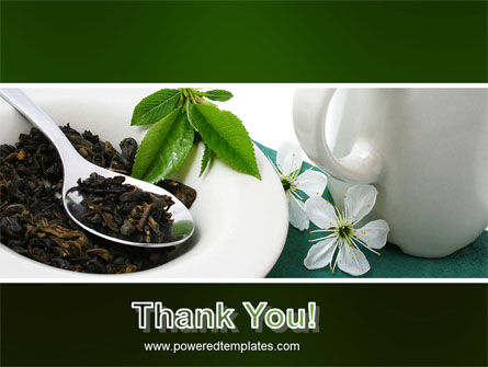 Green Tea Ceremony PowerPoint Template Slide 20