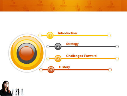 Networking PowerPoint Template, Slide 3, 03552, Careers/Industry — PoweredTemplate.com