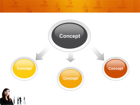 Networking PowerPoint Template, Slide 4, 03552, Careers/Industry — PoweredTemplate.com