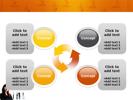 Networking PowerPoint Template Slide 9