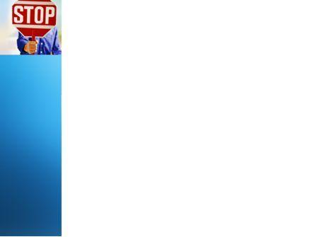 Stop PowerPoint Template, Slide 3, 03554, Politics and Government — PoweredTemplate.com
