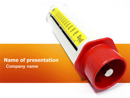 Medical: Flow Meter PowerPoint Template #03558