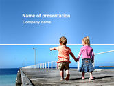 Education & Training: Pier PowerPoint Template #03559