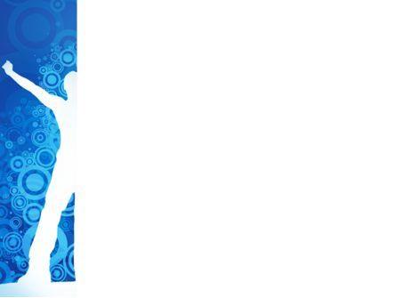Creativity In Blue PowerPoint Template, Slide 3, 03561, Business Concepts — PoweredTemplate.com