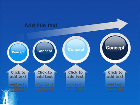 Creativity In Blue PowerPoint Template Slide 13