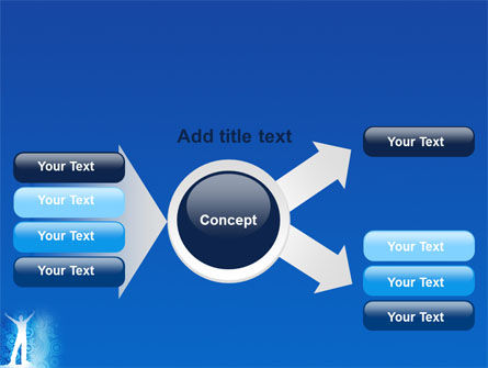 Creativity In Blue PowerPoint Template Slide 14