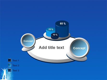 Creativity In Blue PowerPoint Template Slide 16