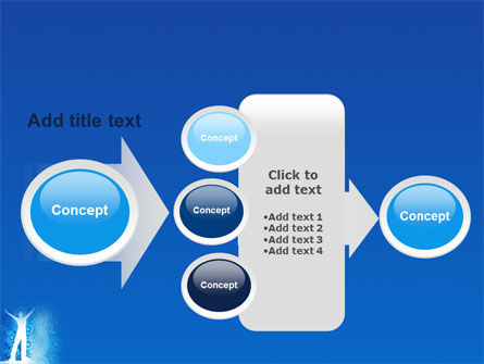 Creativity In Blue PowerPoint Template Slide 17