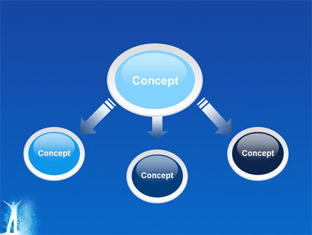 Creativity In Blue PowerPoint Template, Slide 4, 03561, Business Concepts — PoweredTemplate.com