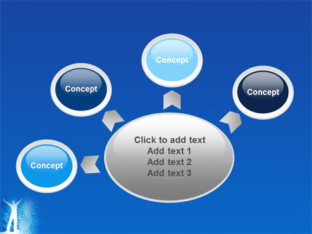 Creativity In Blue PowerPoint Template Slide 7