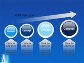 Creativity In Blue PowerPoint Template#13