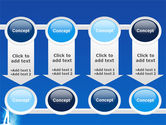 Creativity In Blue PowerPoint Template#18