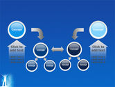 Creativity In Blue PowerPoint Template#19
