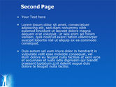Creativity In Blue PowerPoint Template#2