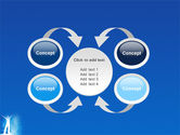 Creativity In Blue PowerPoint Template#6