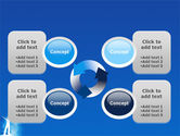 Creativity In Blue PowerPoint Template#9